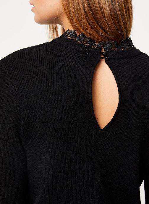 Vêtements Vila Viulle Knit Noir vue face