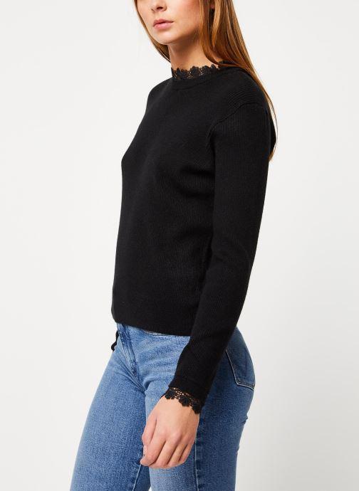 Vêtements Vila Viulle Knit Noir vue droite