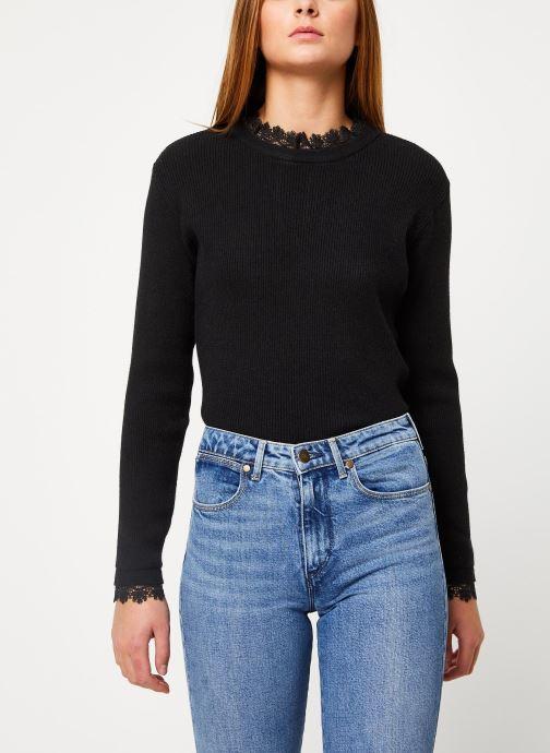 Vêtements Vila Viulle Knit Noir vue détail/paire