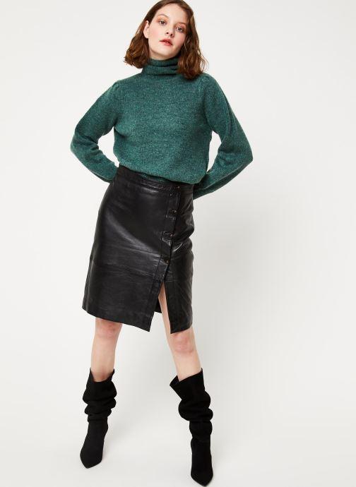 Vêtements Vila Vielfi Skirt Noir vue bas / vue portée sac