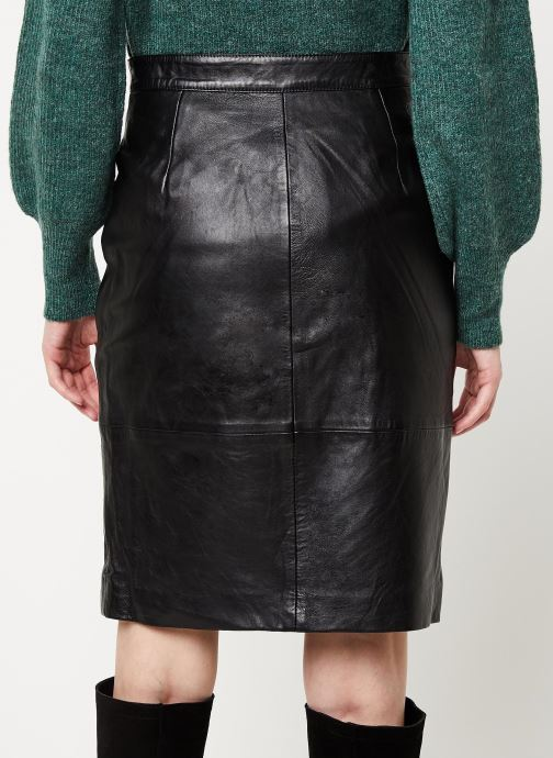Vêtements Vila Vielfi Skirt Noir vue portées chaussures