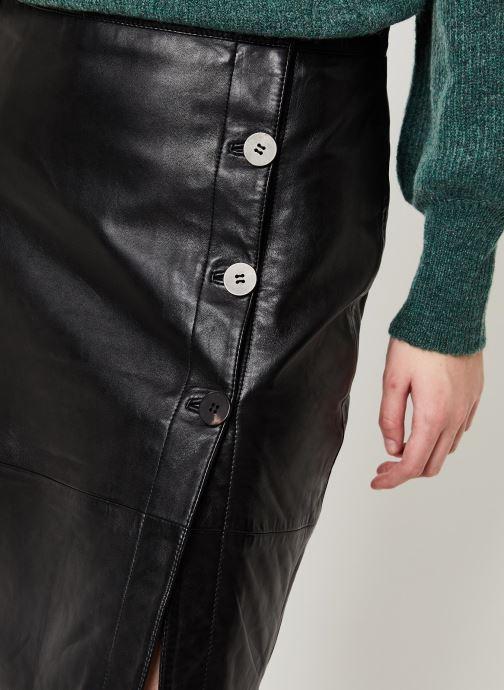 Vêtements Vila Vielfi Skirt Noir vue face