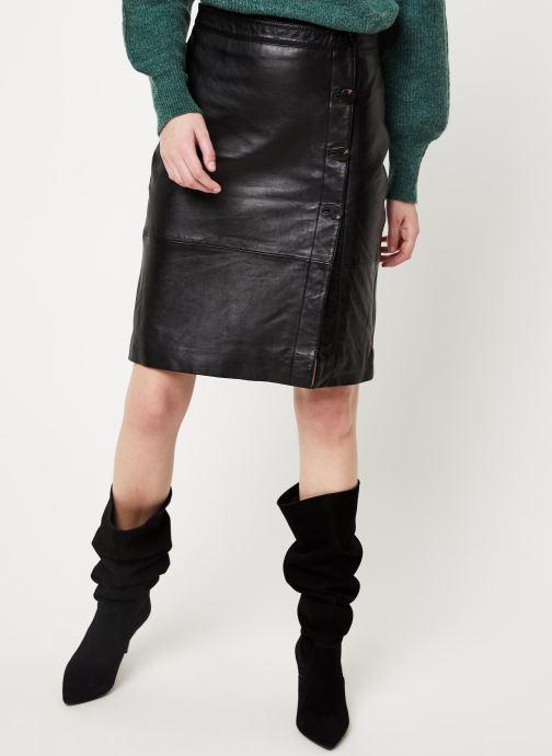 Vêtements Vila Vielfi Skirt Noir vue détail/paire