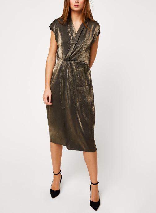 Vêtements Vila Viblinga Dress Noir vue bas / vue portée sac