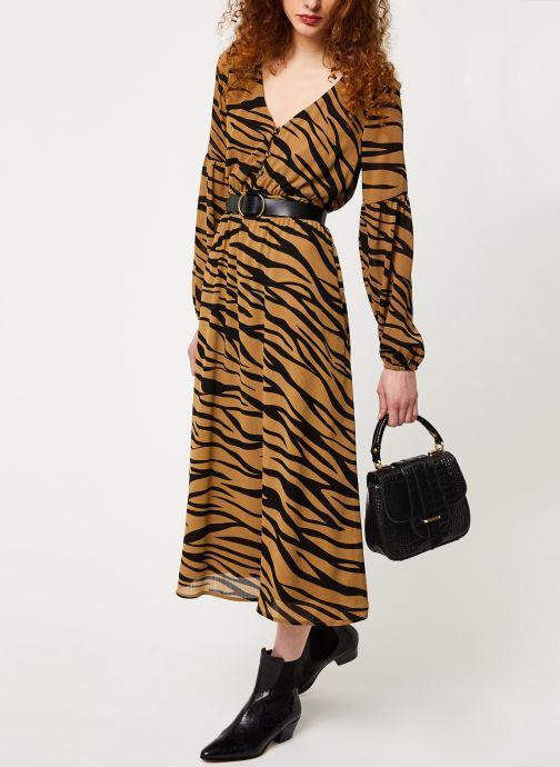 Vêtements Vila Visaffazinnia Dress Marron vue bas / vue portée sac
