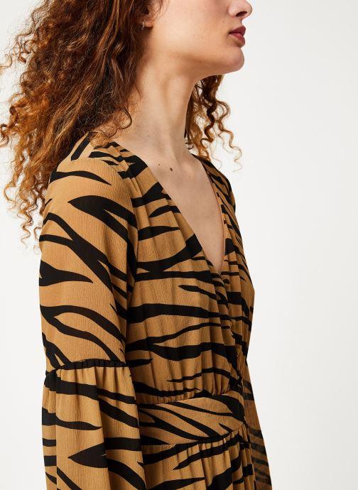 Vêtements Vila Visaffazinnia Dress Marron vue face