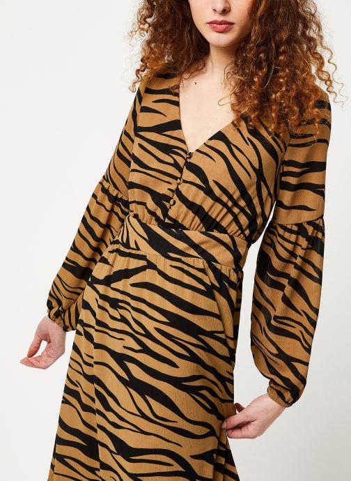 Vêtements Vila Visaffazinnia Dress Marron vue détail/paire