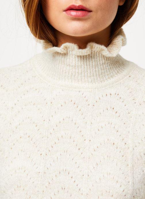 Vêtements Vila Vijiana Knit Beige vue face