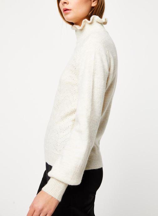 Vêtements Vila Vijiana Knit Beige vue droite
