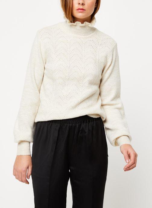 Vêtements Vila Vijiana Knit Marron vue détail/paire