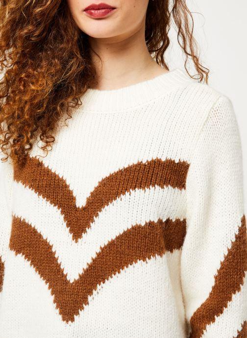 Vêtements Vila Vishevra Knit Top Blanc vue face