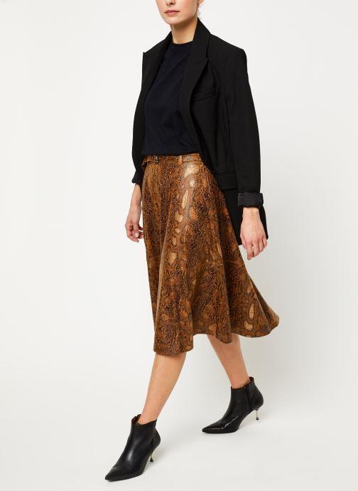 Vêtements Vila Vipines Skirt Marron vue bas / vue portée sac