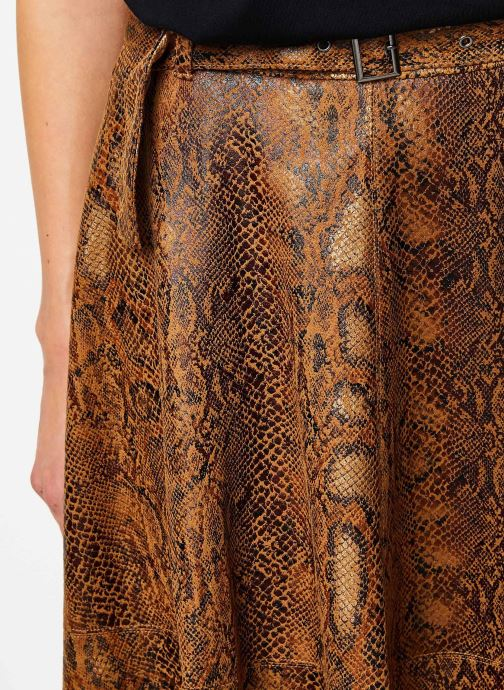 Vêtements Vila Vipines Skirt Marron vue face