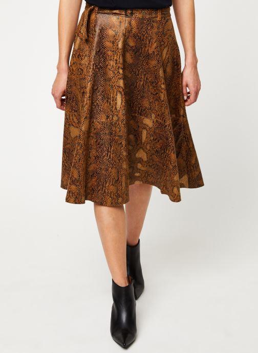Vêtements Vila Vipines Skirt Marron vue détail/paire