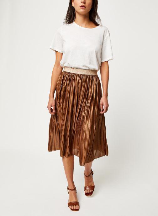 Vêtements Vila Vikajsa Skirt Marron vue bas / vue portée sac