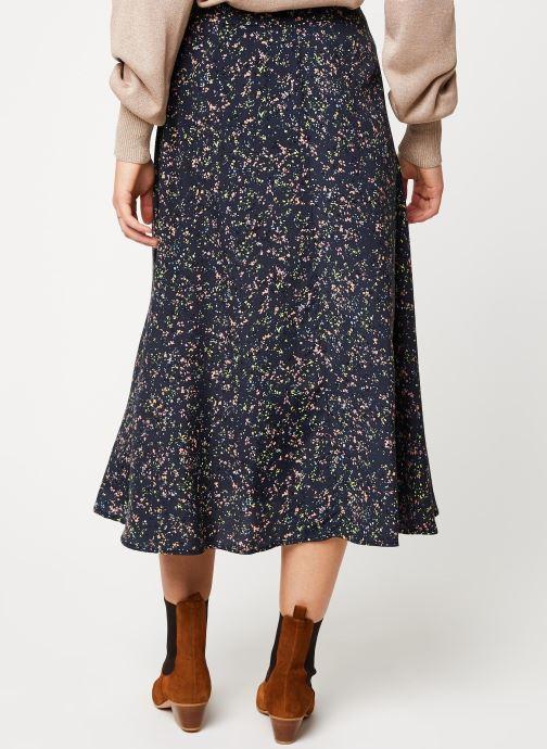 Vêtements Y.A.S Yaslandy Hw Midi Skirt Noir vue portées chaussures