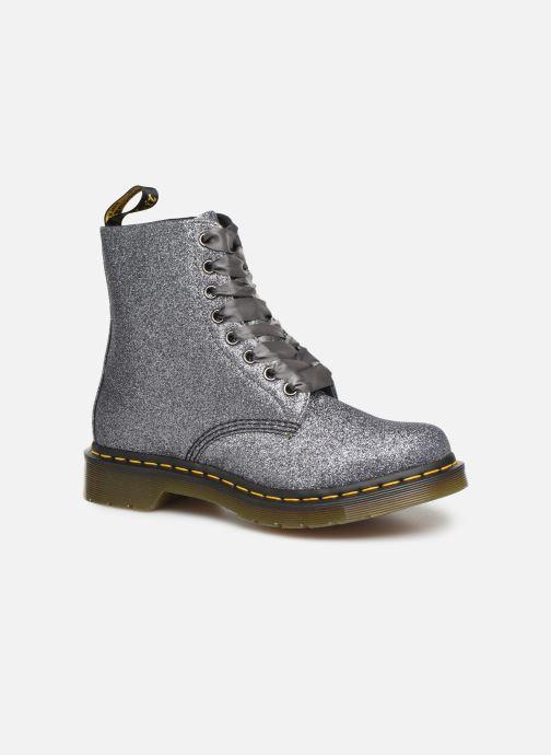 Ankelstøvler Dr. Martens 1460 Pascal W Sølv detaljeret billede af skoene