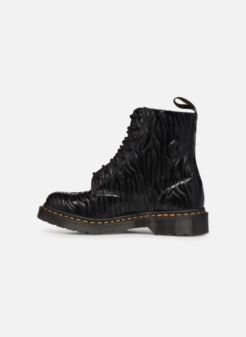 Bottines et boots Dr. Martens 1460 Pascal W Noir vue face