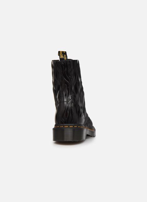 Bottines et boots Dr. Martens 1460 Pascal W Noir vue droite