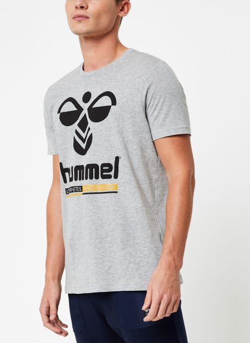 Vêtements Hummel Hmljonas T-Shirt S/S Gris vue droite