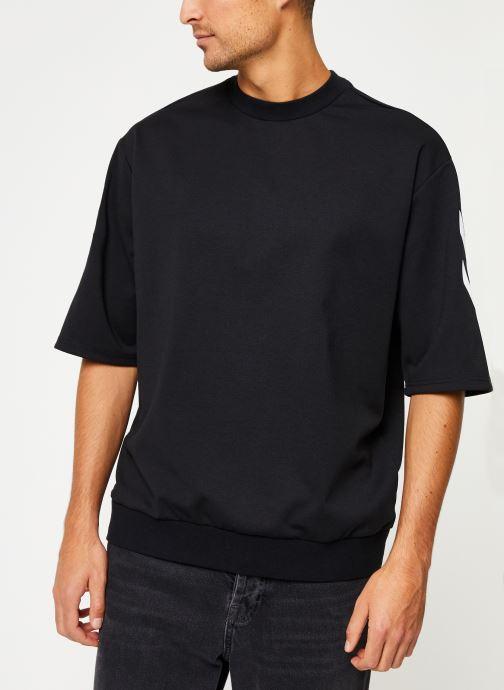 Vêtements Hummel Hmlclaes T-Shirt Ss Noir vue droite