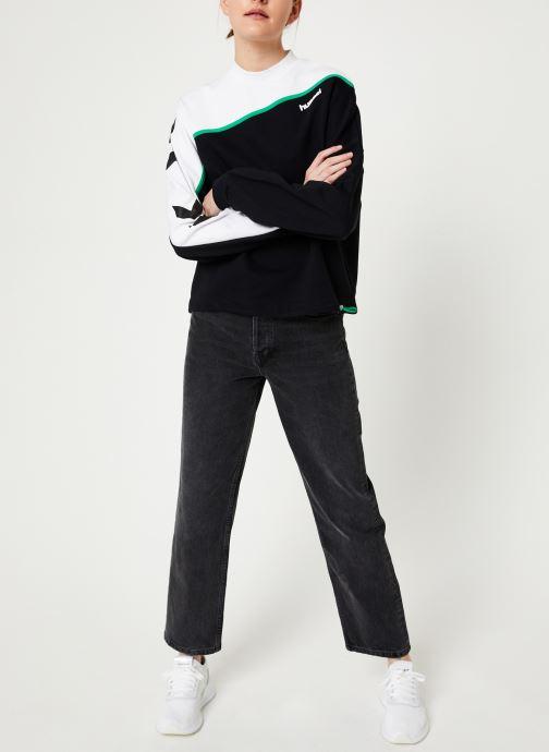 Vêtements Hummel Hmlcrissy Sweathirt Noir vue bas / vue portée sac