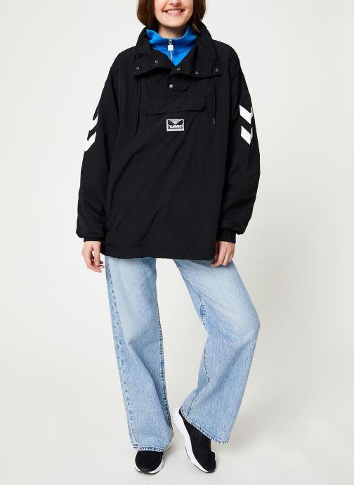 Vêtements Hummel Hmlcalista Half Zip Jacket Noir vue bas / vue portée sac