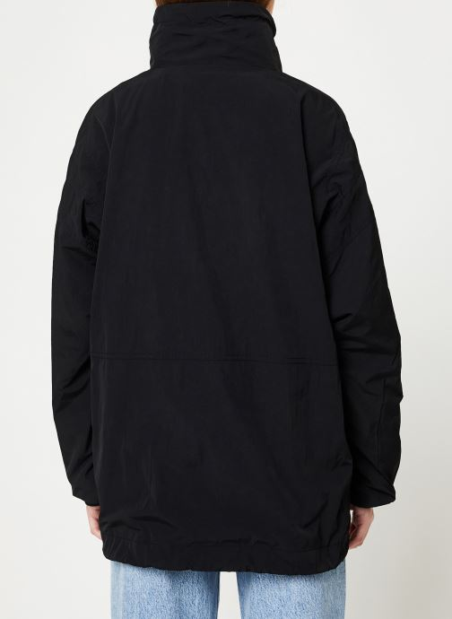 Vêtements Hummel Hmlcalista Half Zip Jacket Noir vue portées chaussures