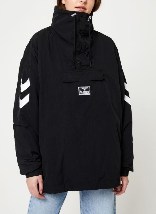 Vêtements Hummel Hmlcalista Half Zip Jacket Noir vue droite
