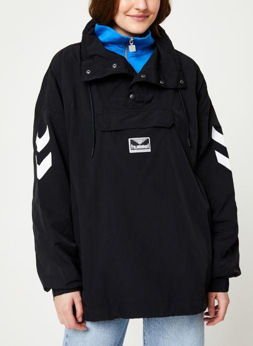 Vêtements Hummel Hmlcalista Half Zip Jacket Noir vue détail/paire