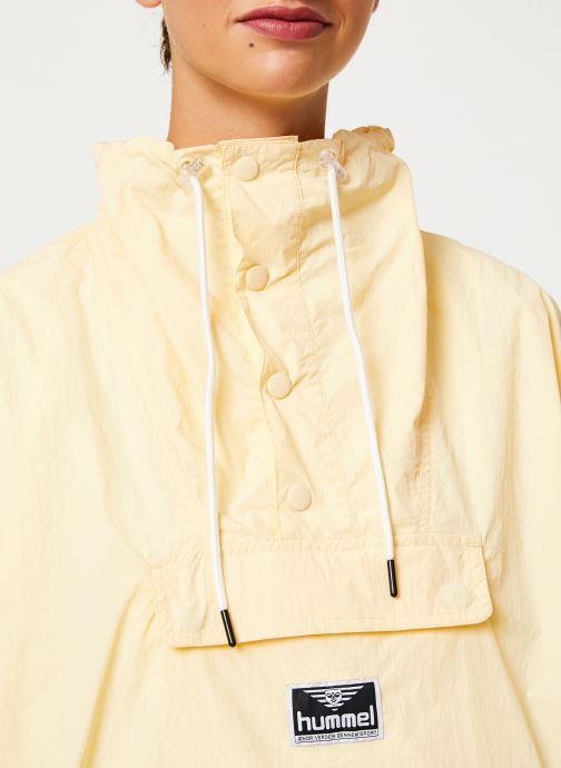 Vêtements Hummel Hmlcalista Half Zip Jacket Jaune vue face