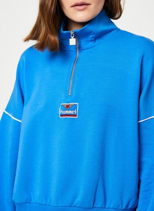 Vêtements Hummel Hmlcia Half Zip Bleu vue face