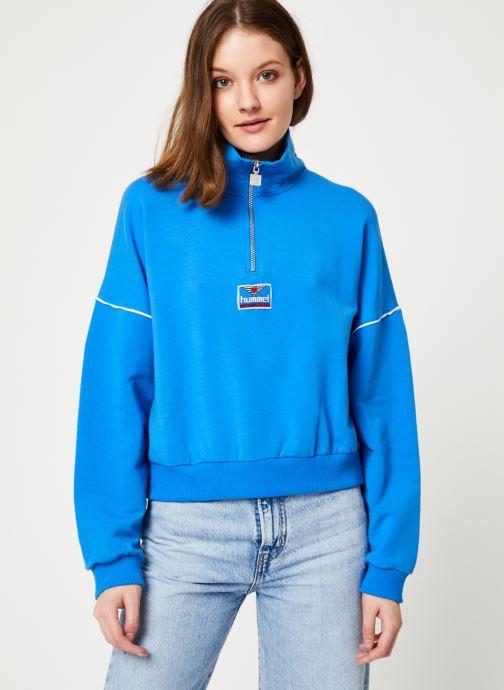 Vêtements Hummel Hmlcia Half Zip Bleu vue droite