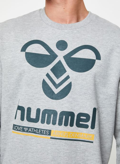 Vêtements Hummel Hmlwin Sweatshirt Gris vue face