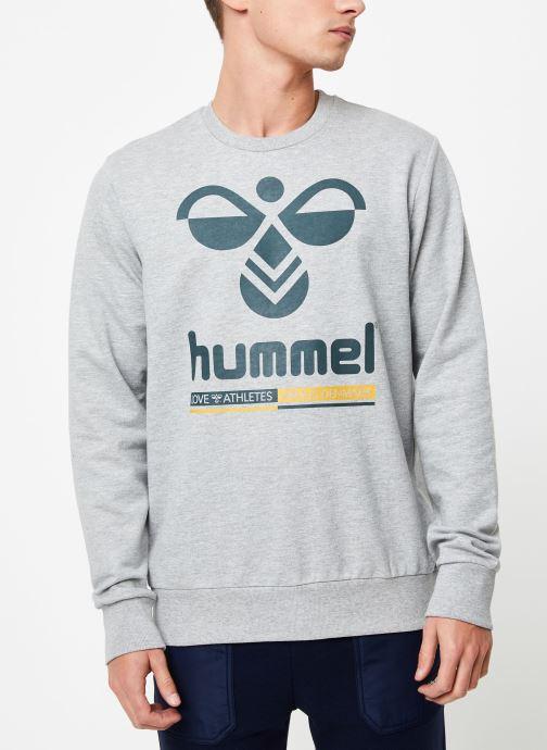 Vêtements Hummel Hmlwin Sweatshirt Gris vue droite
