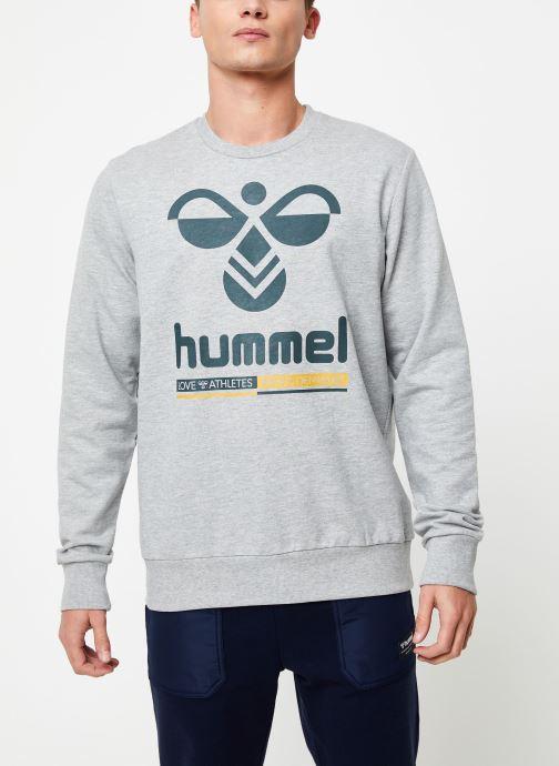 Vêtements Hummel Hmlwin Sweatshirt Gris vue détail/paire