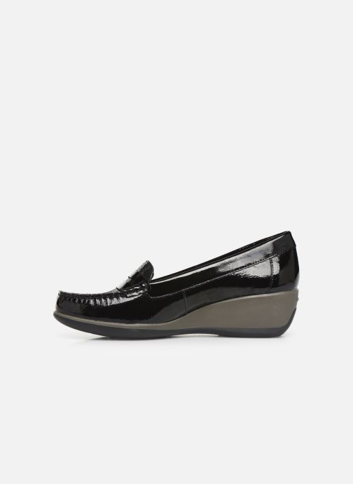 Loafers Geox DARETHEA Black front view