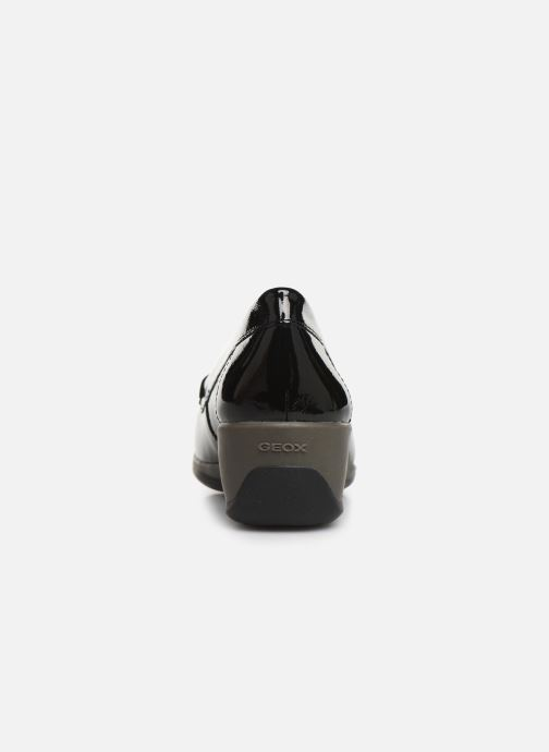 Loafers Geox DARETHEA Black view from the right