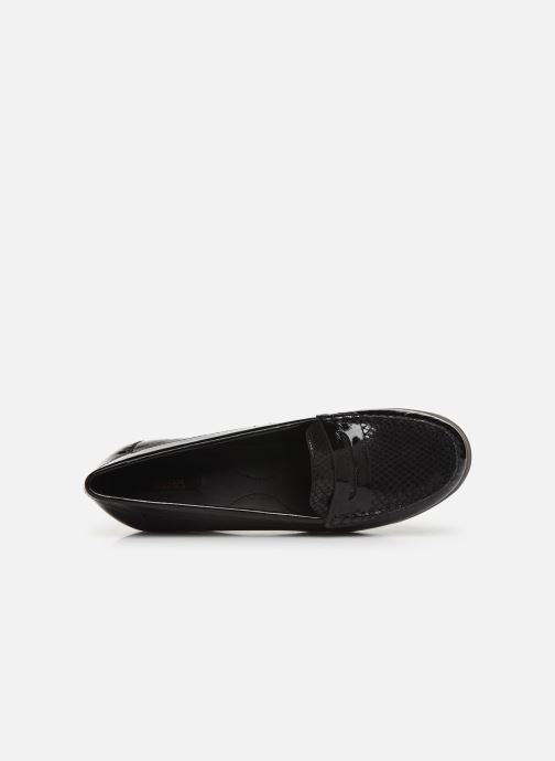 Loafers Geox DARETHEA Black view from the left