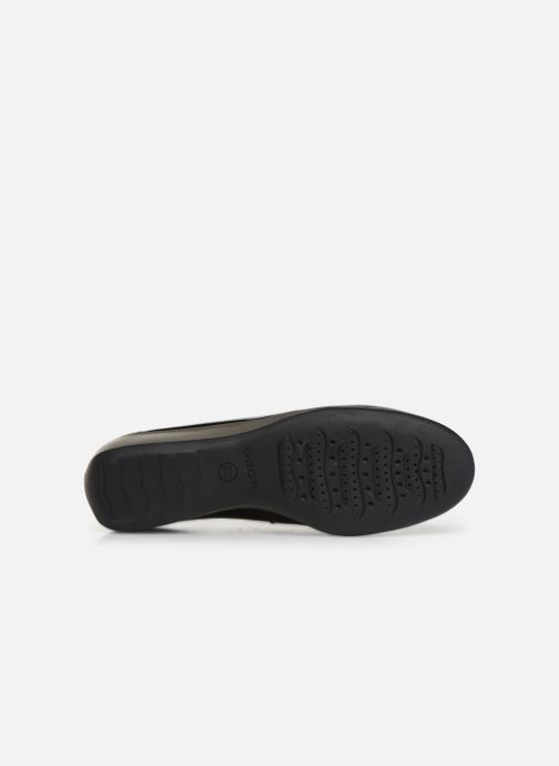Loafers Geox DARETHEA Black view from above