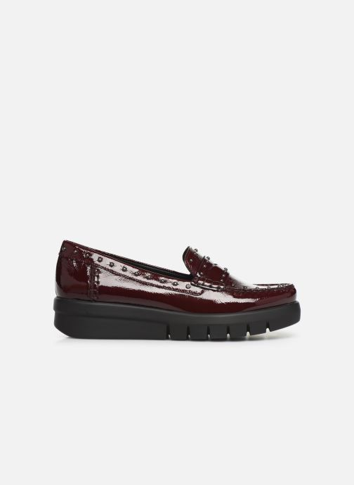 Loafers Geox DWIMBLEYMOC Burgundy back view