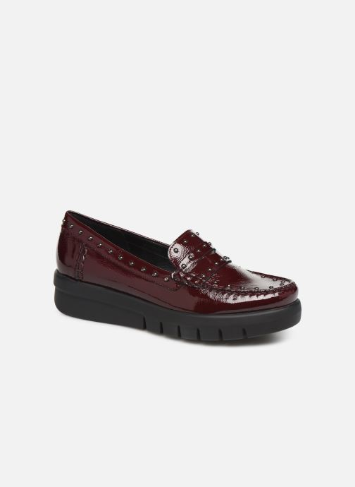 Loafers Geox DWIMBLEYMOC Burgundy detailed view/ Pair view