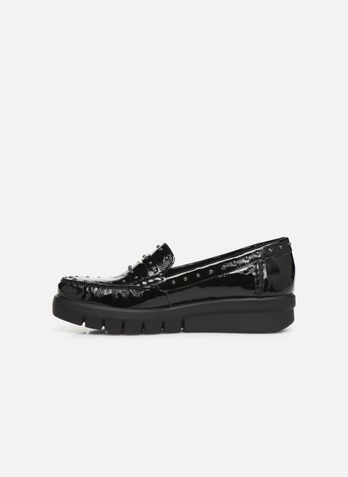 Loafers Geox DWIMBLEYMOC Black front view