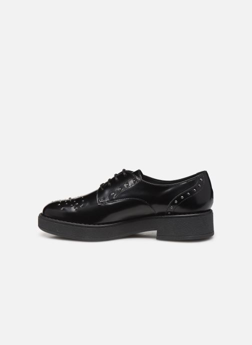 Lace-up shoes Geox DADRYA Black front view