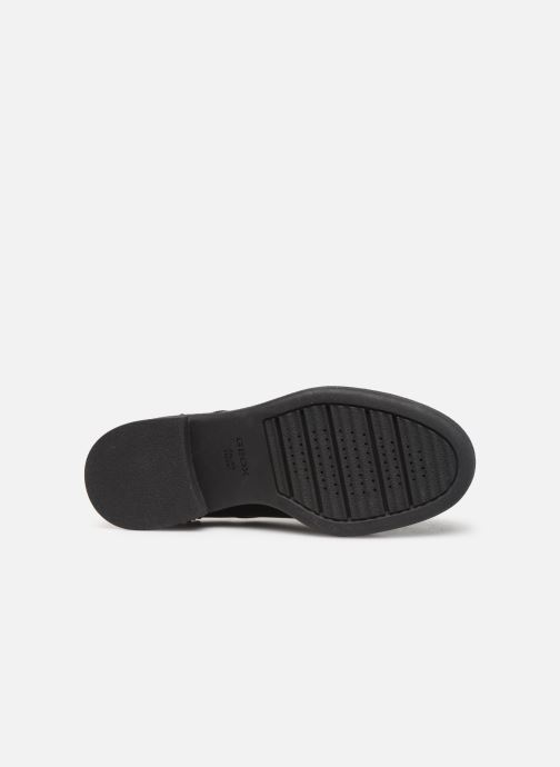 Lace-up shoes Geox DADRYA Black view from above