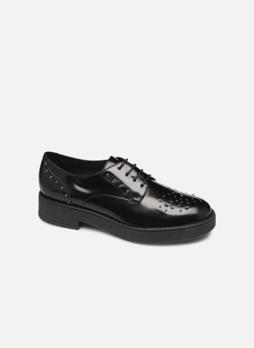 Lace-up shoes Geox DADRYA Black detailed view/ Pair view