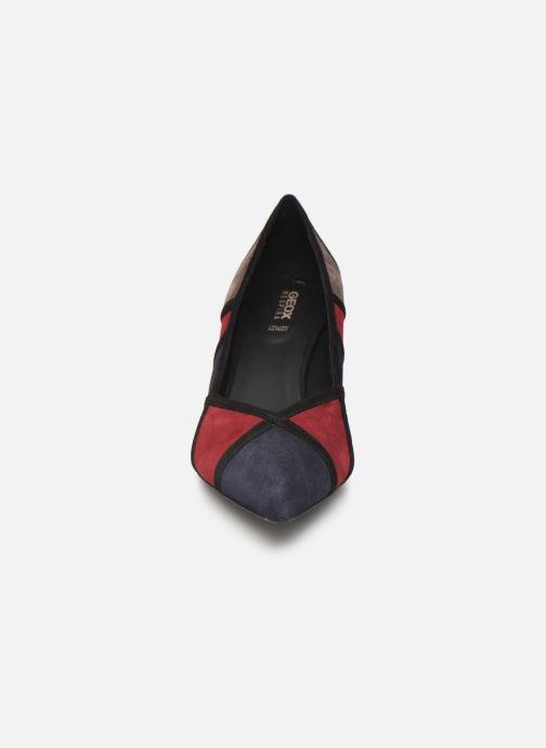 High heels Geox DBIBBIANA Multicolor model view