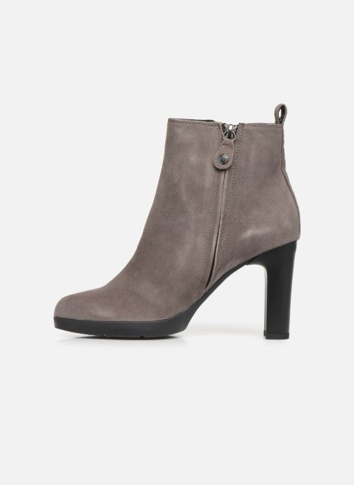 Ankle boots Geox DANNYAHIGH2 Grey front view