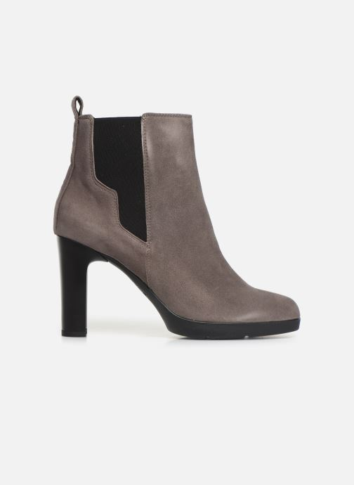 Ankle boots Geox DANNYAHIGH2 Grey back view