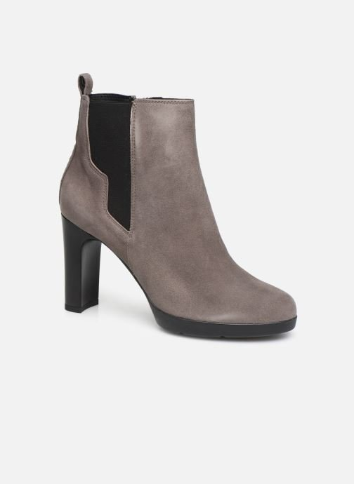 Ankle boots Geox DANNYAHIGH2 Grey detailed view/ Pair view